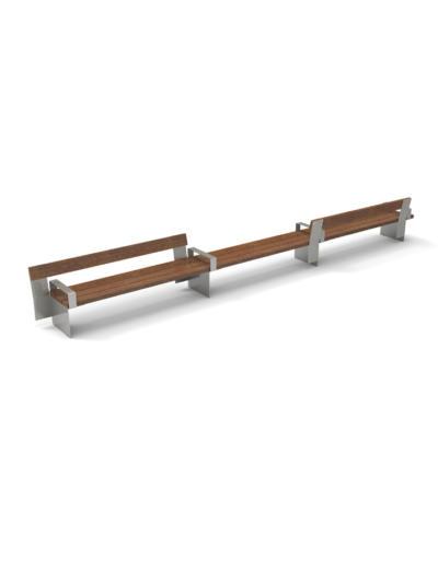 Santa & Cole Urbidermis - Bancal bench