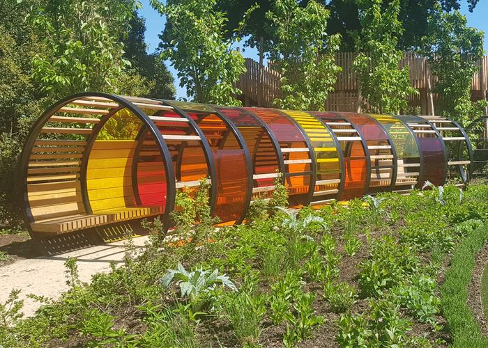 Handspring Design - Kew Gardens - Tunnel Hoop Shelter