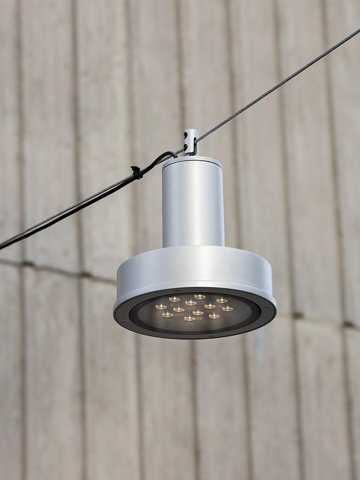 Arne S catenary light by Uribidermis Santa & Cole