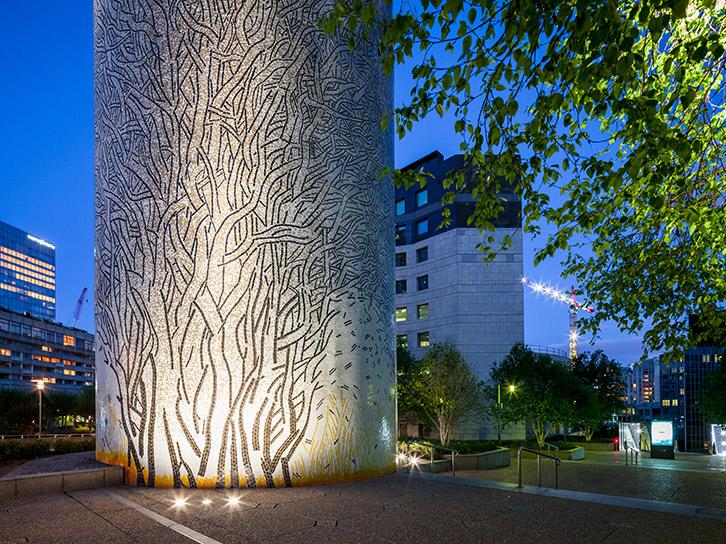 LEC Lyon - allevard outdoor lighting